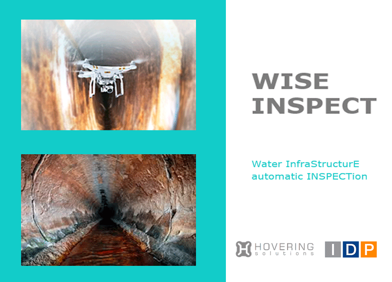 IDP participa en el proyecto WISE-INSPECT: Water Infrastucture Automatic Inspection